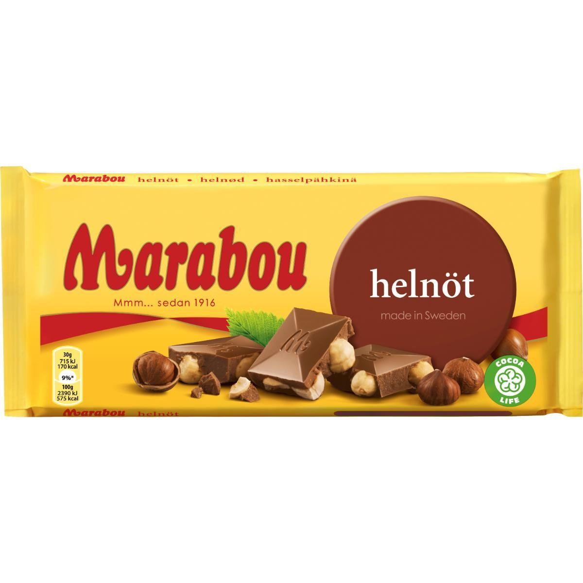 marabou 100g kcal