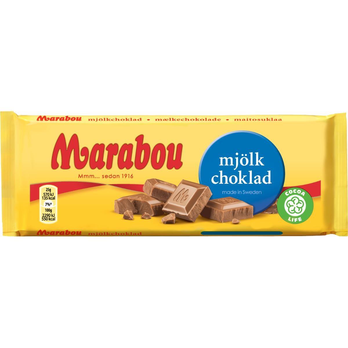 100 g choklad