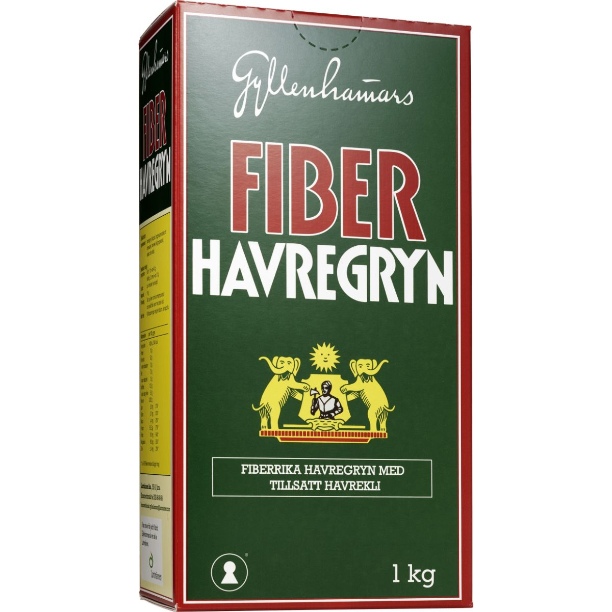havregryn med fiber